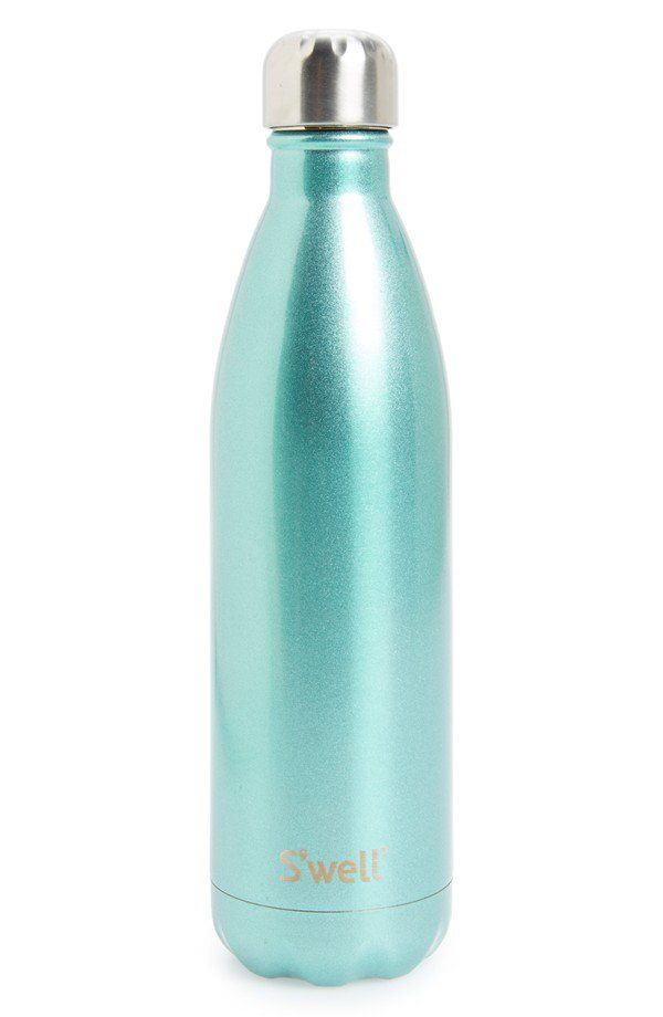 Pin for Later: Minty Fresh: The Perfect Spring Activewear Color (and 38 Ways to Wear It) S'well 'Sweet Mint' Insulated Stainless Steel Water Bottle S'well 'Sweet Mint' Insulated Stainless Steel Water Bottle ($35)
