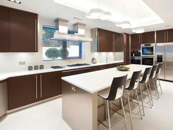 Modern Kitchen Cabinets 2012 At Inspiration Design UK House By Harrison  Varma Part 92
