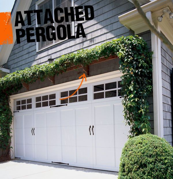 25 Best Ideas About Attached Garage On Pinterest: 21 Best Images About Garage Pergola On Pinterest