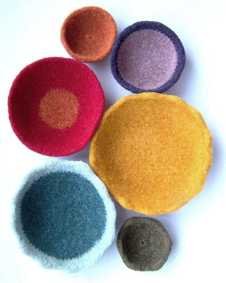 Fast and Fun Felted Bowls Crochet pattern by ColorSpot ...