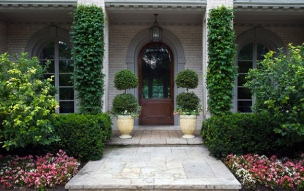 Front yard landscape design steps1 landscape ideas for Front window landscaping ideas