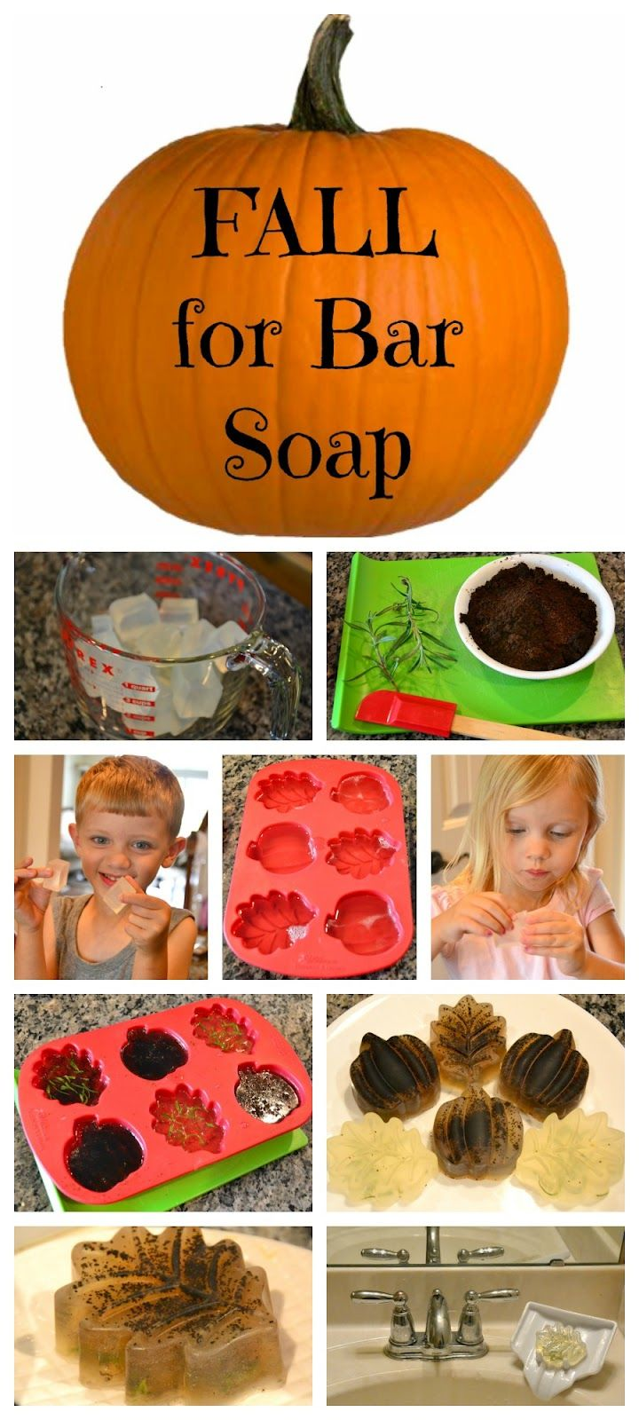 {Fall for Bar Soap!} an easy project that will have your kids *begging* to wash their hands!! [In Lieu of Preschool]