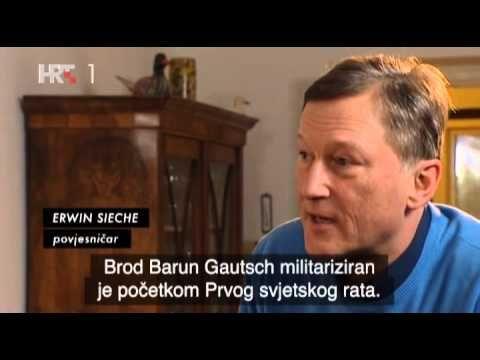 VELIKI BRODOLOMI JADRANA EPIZODA 1 (Jadranski Titanic - Baron Gautsch) - YouTube
