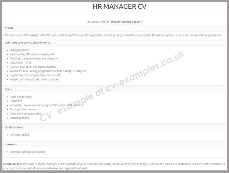 179 best cv examples images on pinterest cv examples cv tips