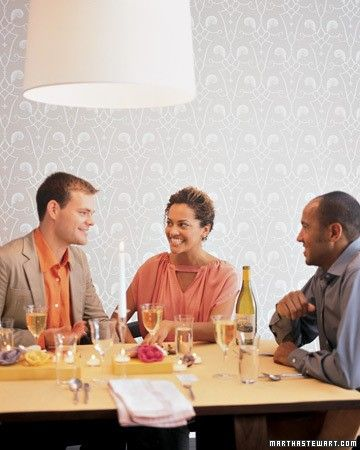 What better time to host a dinner party than New Year's Eve? With our  simple strategy and manageable menu, you and your guests are sure to  have a fabulous time.When it comes to the guest list, six is the golden number. Two fewer guests and it turns into a double date (or an awkward rendition thereof), two more and the conversation divides and you miss out on half of it. Email or mail invitations at least a month in advance since calendars fill up faster around the holidays. Ask guests to…