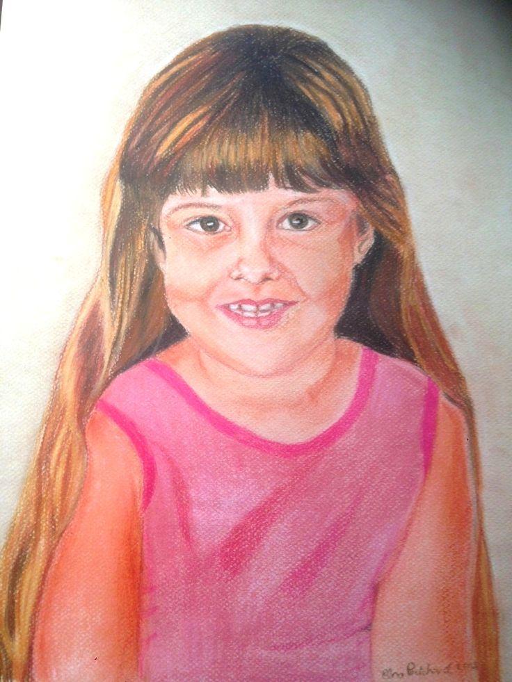 Klein Milla Pastel on paper A3 size