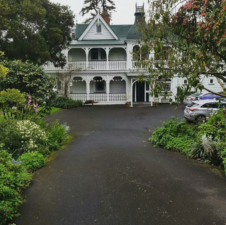 NZ Alberton historical house