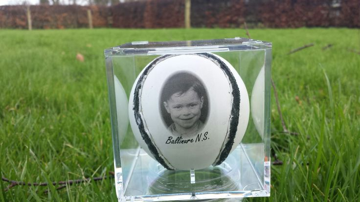 Personalised hurling sliotar for a GAA fan