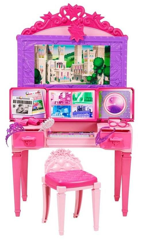 Barbie in Super Prinses - 2in1 Kaptafel Speelset (CDY64) #barbie #speelgoed #barbiesuperprinses #supersparkle