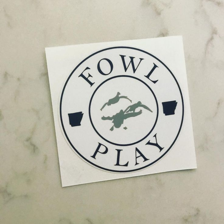 FREE FOWL PLAY STICKER WITH EVERY PURCHASE ON FOWLPLAYGEAR.COM  #wheresduckseason #arkansashunting #fowlplay #play #fowl #ar #arkansas #hunt #duckgear #fowlplaygear #duckhunting #duckhunter #fowllimit #fowllowme #fowldamage #fowllife #ducklover #duckface #duckdynasty #duckduck http://misstagram.com/ipost/1571318871448018404/?code=BXOcjA5ht3k
