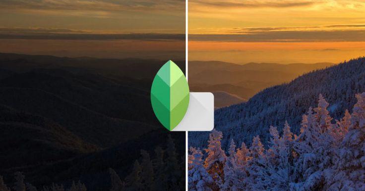 Snapseed Can Now Edit RAW Photos on iOS