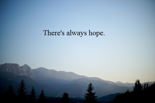 Gallery Quotes About Hope Tumblr
