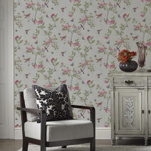 50-765-V-A-Collection-Chinoiserie-Parchment-Floral-Birds-Feature-Wallpaper