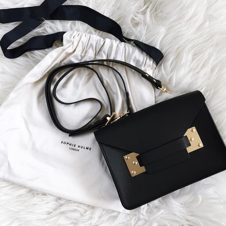 Officially in a relationship with my new Sophie Hulme bag! | onlinestylist on Instagram |