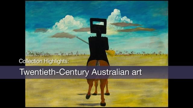 Sidney Nolan's 1946–47 series of paintings on the theme of the nineteenth-century bushranger Ned Kelly is one of the greatest sequences of A...