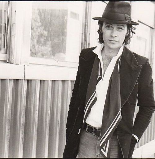 The Band's Robbie Robertson, back in the day