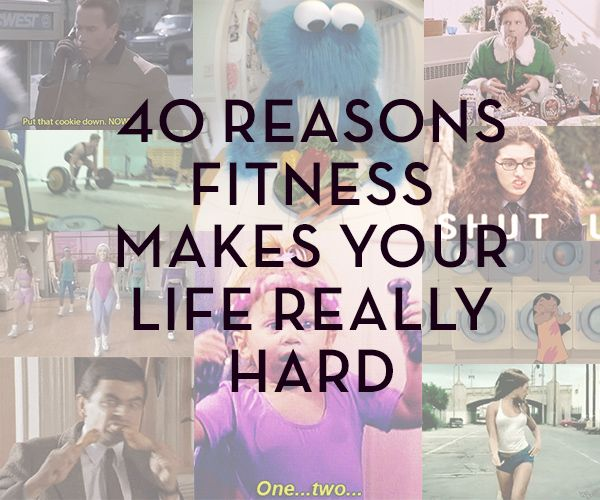 40 reasons health and fitness makes your life really hard (in GIFs)