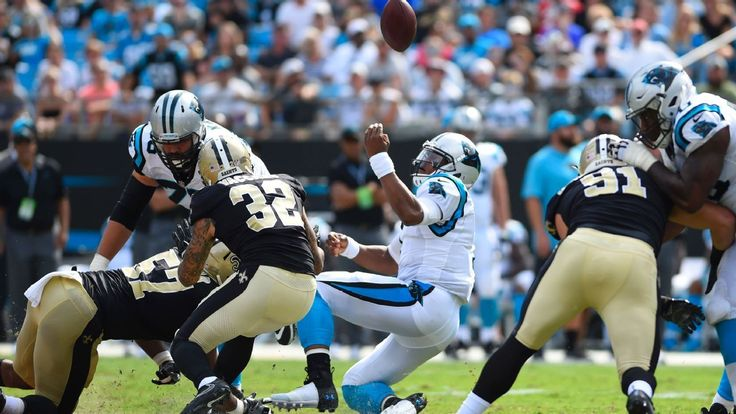 Cam Newton's rusty play has to be a concern for Panthers #FansnStars