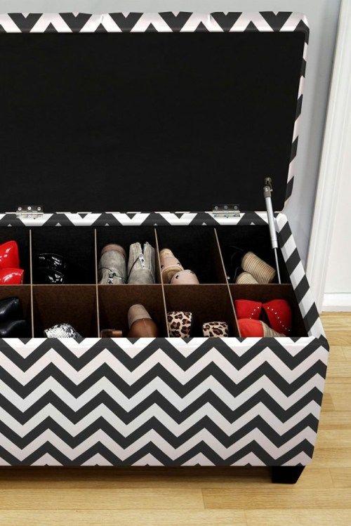 les 25 meilleures id es concernant range chaussures sur. Black Bedroom Furniture Sets. Home Design Ideas