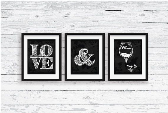 Black And White Wine Wall Decor : Best ideas about wine poster on jazz