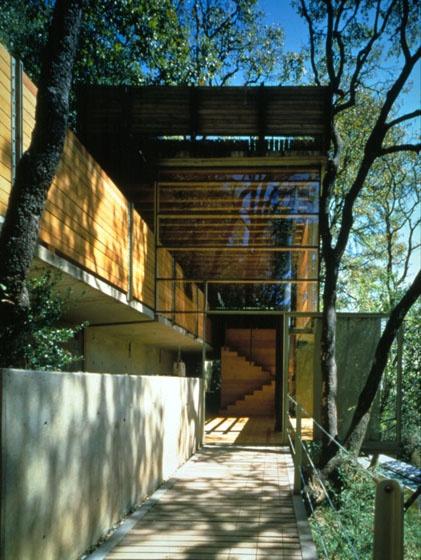 CASA NEGRO - Contadero, Cuajimalpa Arquitectos: Alberto Kalach, Adriana Leòn Desarrollo: Taller de Arquitectura X - 1997