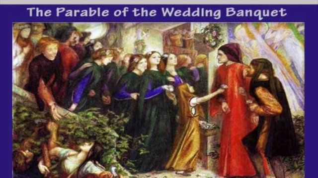 Lorne Coyle and the parable of the wedding banquette: Matthew 22.1-14 on Vimeo
