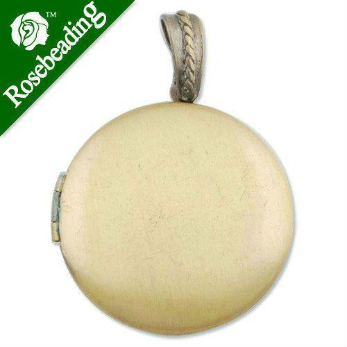 32 ММ Античная бронза Круглый Полированная Латунь Медальон, с рисунком эффект, гравировка медальоны, античные медальоны для продажи, продается 20 шт./УП