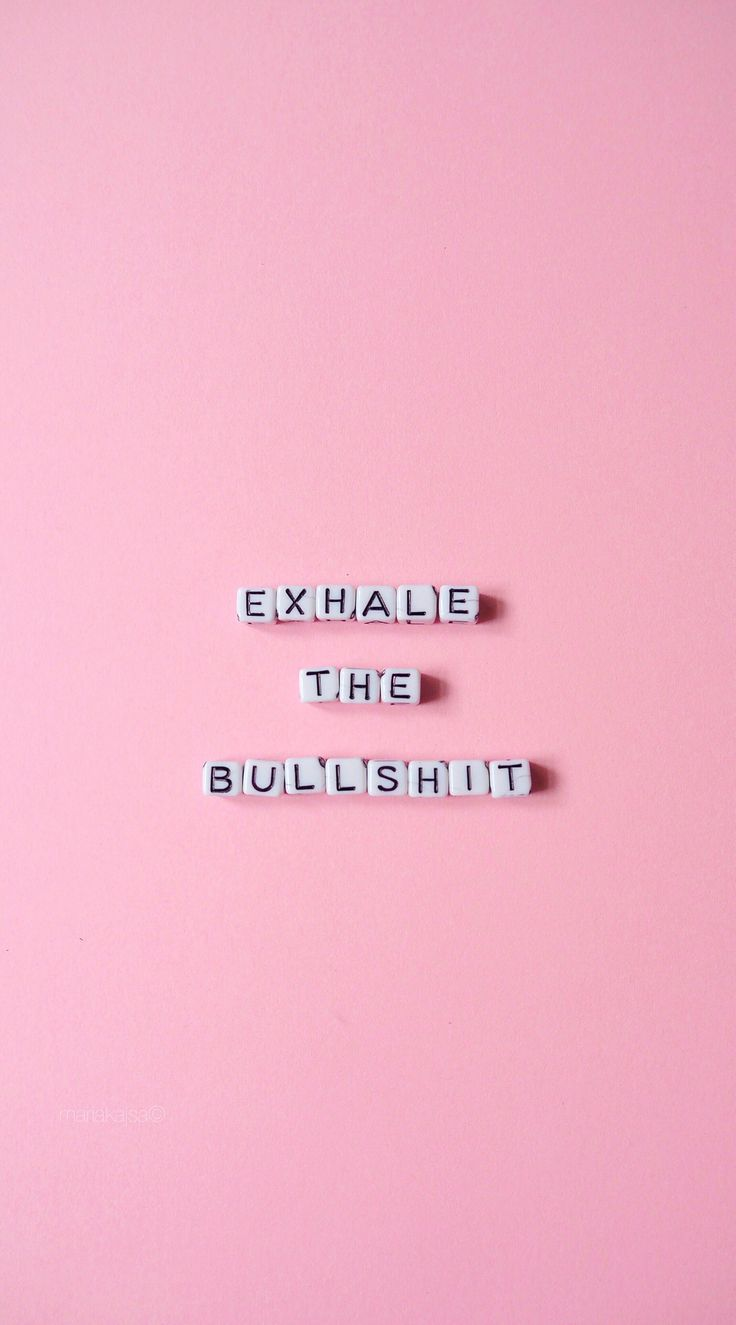 iPhone and Android Wallpapers: Exhale Pink Wallpaper for iPhone and Android
