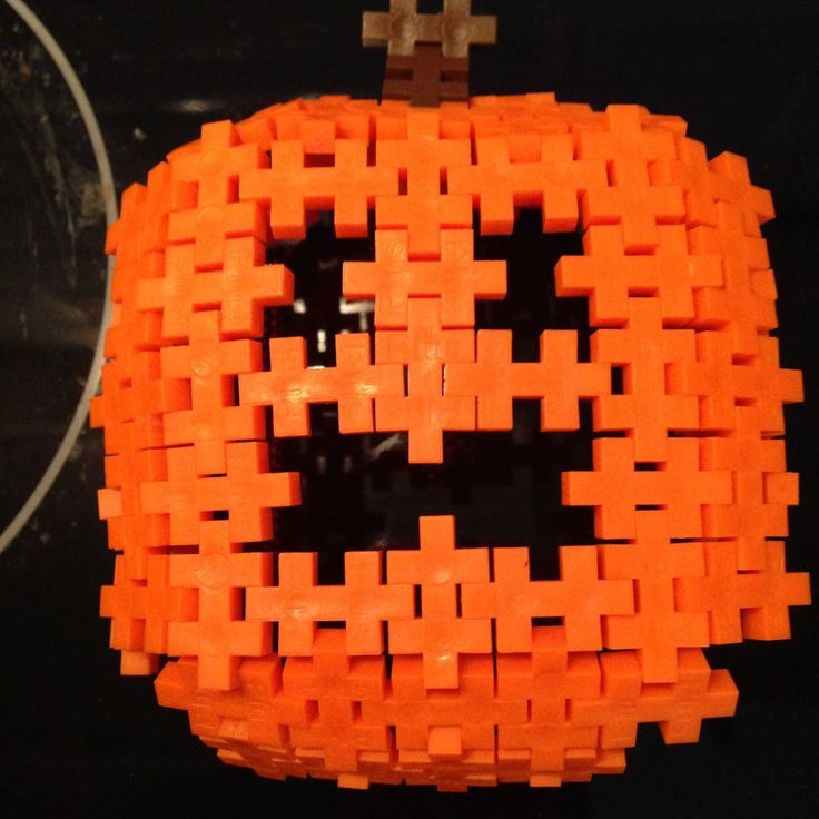 Plus Plus Halloween Pumpkin http://ow.ly/q7pds