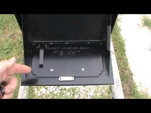 *$100 amozon  RUBBER SEAL Architectural Security Mailbox Review