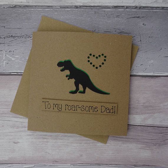 Funny Father's Day card T-Rex Dinosaur card for Dad