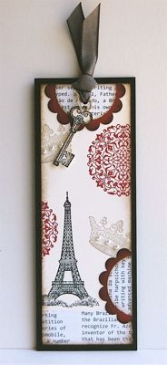 Bookmark & Coordinating Card by mamamostamps - Cards and Paper Crafts at Splitcoaststampers