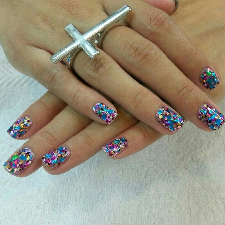 Pretty gel nails designs