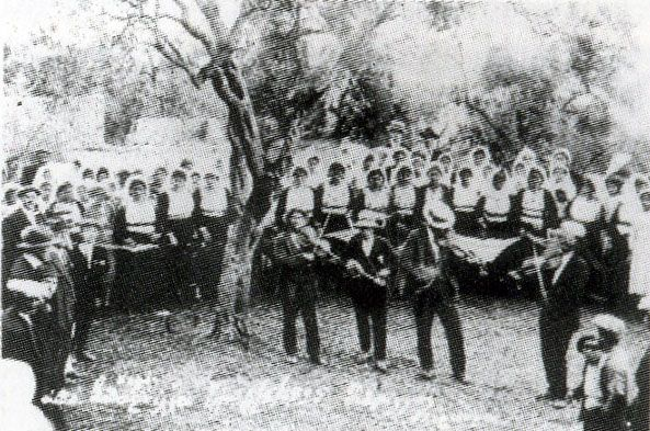"""Κέρκυρα. Η φωτογραφία απο το CD : """" Η Κέρκυρα τραγουδάει , παραδοσιακά κερκυραικά τραγούδια """" απο το φωνητικό συγκρότημα Τ'ΑΡΓΑΣΤΗΡΙ"""