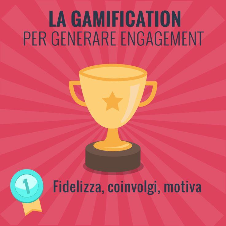 Aspetti ludici, spirito di competizione e meccaniche che coinvolgono gli utenti: ecco perchè la #Gamification genera #engagement!