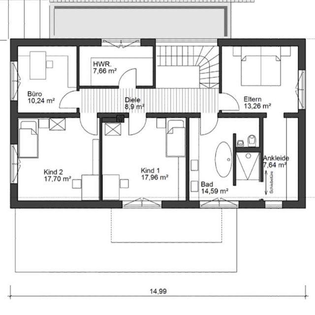 576 best Bauen - Häuser - Grundrisse images on Pinterest House - schlafzimmer nach maß