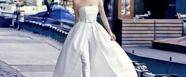 18 Wedding Pantsuit Ideas – Modern Bridal Outfits