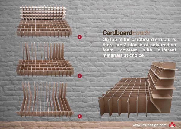 creative cardboard furniture