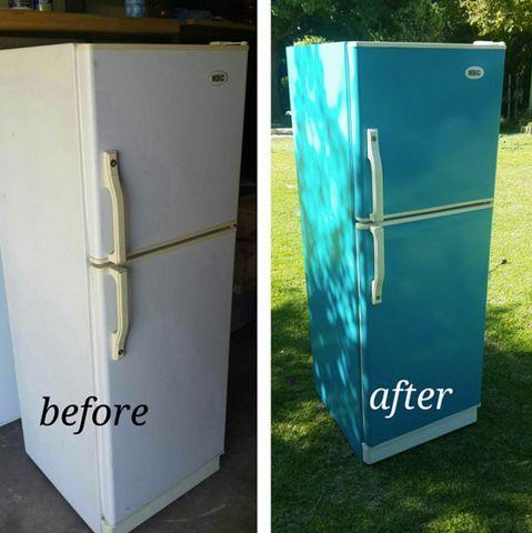 best 25 painting refrigerator ideas on pinterest chalkboard fridge chalkboard paint. Black Bedroom Furniture Sets. Home Design Ideas