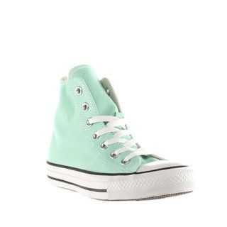 Womens Turquoise Converse All Star Canvas Hi Trainers | schuh