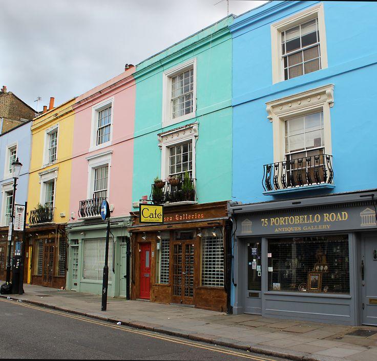 #London #NottingHill #Portobello Road