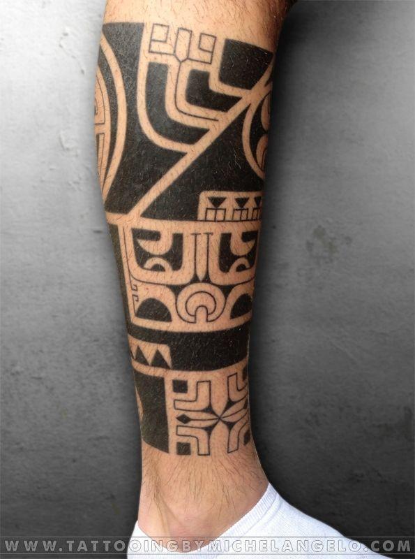 Mezza gamba marchesana   stile marchesano blackwork    Tattoo by Michelangelo   Tribal tattoos   Tatuaggi tribali
