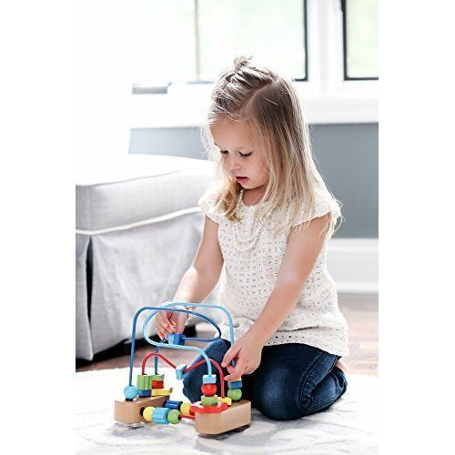 Activity Toy for Kids Roller Coaster Sliding Beaded Balls, Developmental Child #SD4U