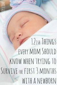 What Every New Mom Should Know to Survive the First 3 Months | A Step In The Journey