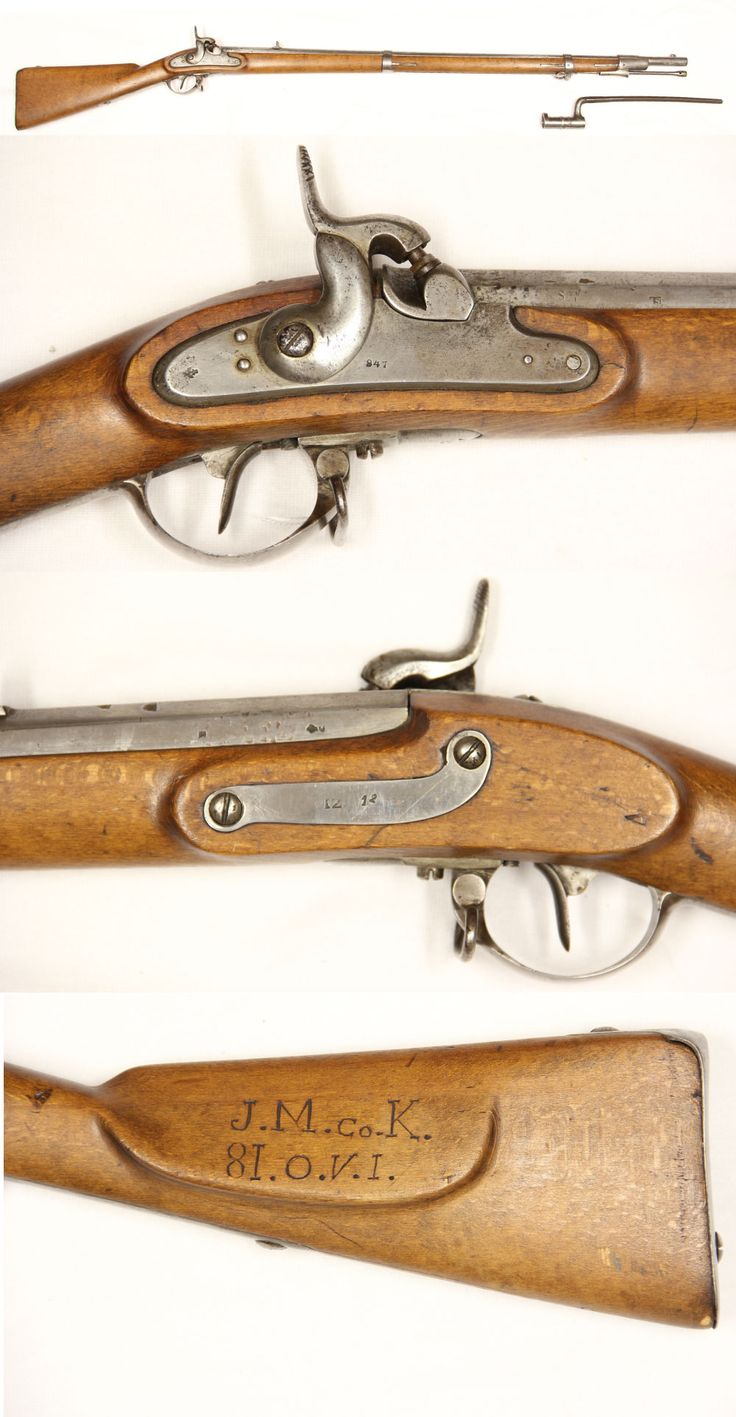 81st ohio carved and identified lorenz rifle fresh from a local nw ohio auction is