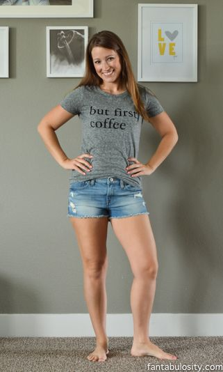 "Ahhhh! This shirt is so me.  ""But First, Coffee"" Shirt!   $25!  I have to have this! http://fantabulosity.com"
