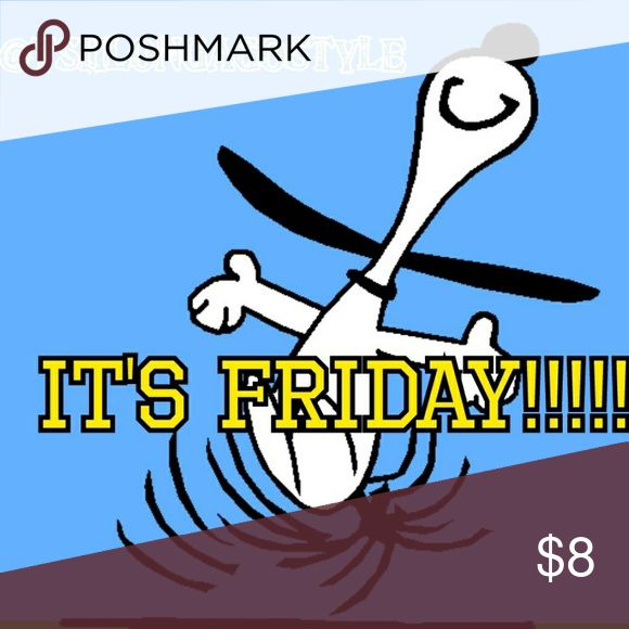Whoohoo! TGI Friday ! New items and Reduced Prices Check my closet for NEW additions and Reduced Prices on older items! EVERYTHING MUST GO! I ALWAYS accept reasonable offers on items prkced over $10!! Come and shop 👄👉👆👗👚🎽👟👡👢👠👡👘👙👓🎀🌂👒👔💼👕 Happy Poshing! Accessories