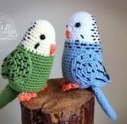 parakeet amigurumi crochet free pattern patrón gratis