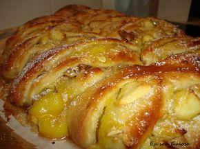 Em vez do bolo rei, escangalhado de maçã, com um aspecto fantástico!