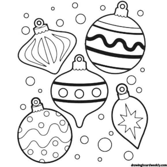 Coloring Page Christmas Ornament HD (mit Bildern ...